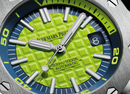 New For 2017 Replica Audemars Piguet Royal Oak Offshore Diver Watch Show