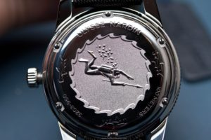 the back of the new Ulysse Nardin Diver Le Locle