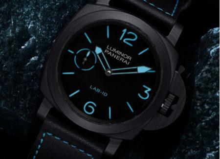 Panerai LAB-ID Luminor 1950 Carbotech 3 Days Replica Watch