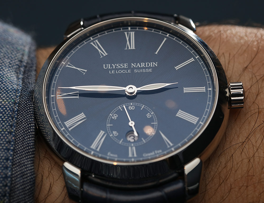 Replica Ulysse Nardin Classico Blue Le Locle Suisse Watch Review