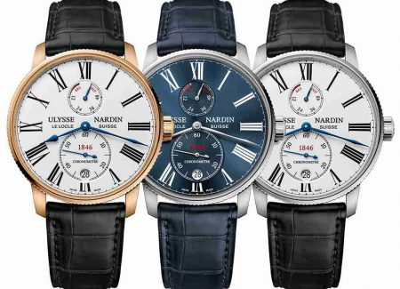 Best Replica Swiss Ulysse Nardin Marine Chronometer Torpilleur Watch Guide 2017