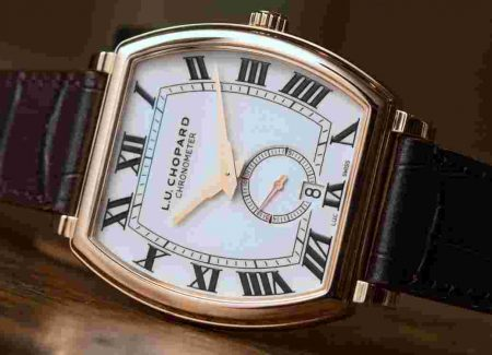 Report Chopard L.U.C Heritage Rose Gold Mens Replica Watch