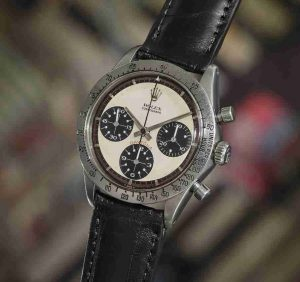 Luxury Replica Rolex Daytona Paul Newman Stainless Steel Watch