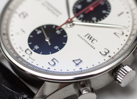 Christmas Special Replica IWC Portugieser Chronograph Rattrapante Boutique Canada Edition Watch
