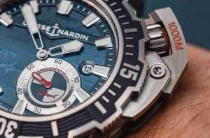 Replica Ulysse Nardin Diver Deep Dive Hammerhead Shark Limited Edition Navy Blue Dial 46mm Watch Review