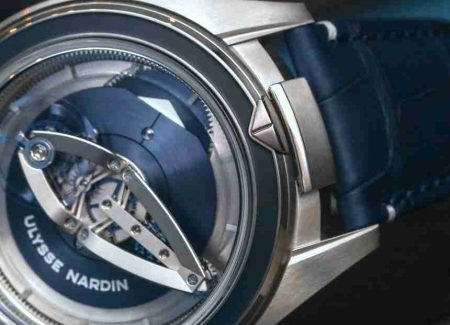 SIHH 2018 Replica Ulysse Nardin Freak Collection Vision Platinum And Titanium 45mm Watches Introducing