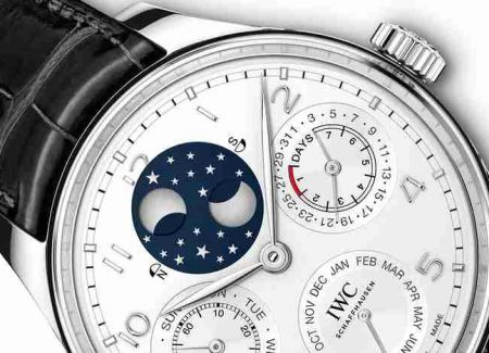 Replica IWC Portugieser Perpetual Calendar Platinum & Automatic Stainless Steel Watches Introduction