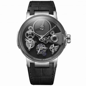 Why Should You Buy A Ulysse Nardin Executive Tourbillon Free Wheel Solid 18K Grey Gold 44mm Replica Watch