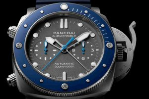 Swiss Replica Officine Panerai Luminor Submersible Chrono Guillaume Néry PAM982 Watches Recommend For 2018 Christmas