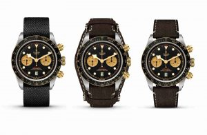 The Baselworld 2019 Tudor Black Bay Automatic Chronograph Steel & Gold 41mm 79363N Replica Watches Description