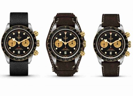 The Baselworld 2019 Tudor Black Bay Automatic Chronograph Steel & Gold 41mm 79363N Replica Watches Description