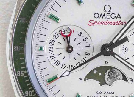 Introducing The Omega Speedmaster Moonphase Chronograph Platinum Gold Watches Replica