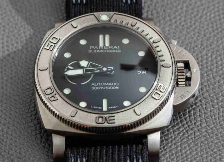 Guide of Swiss Officine Panerai Submersible Mike Horn Edition PAM00984 Replica