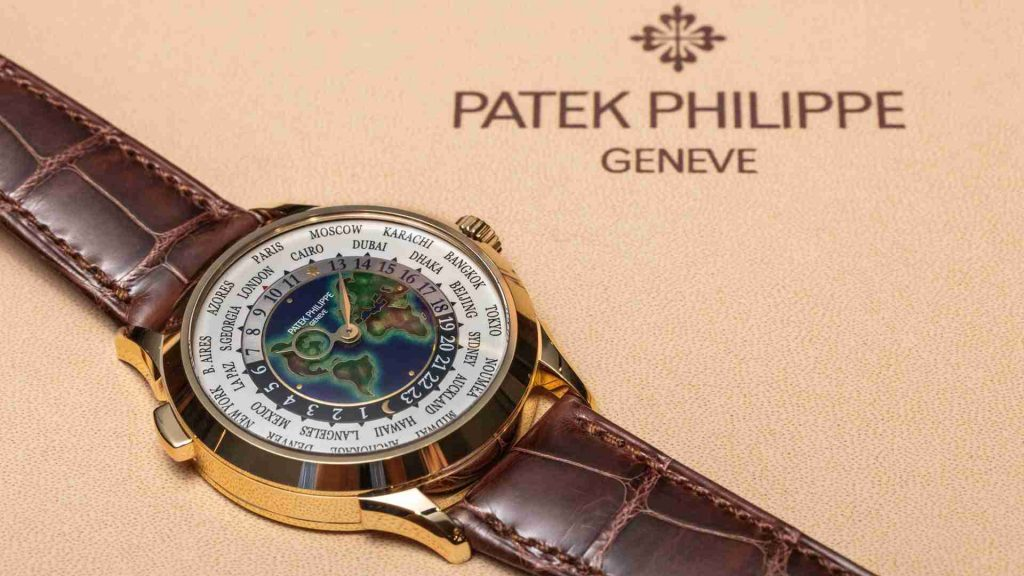 Introducing The Best Patek Philippe World Time Yellow Gold 5231J Replica Watches Review