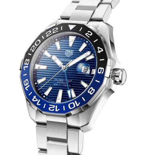 The New Replica TAG Heuer Aquaracer GMT ETA 2893-A2 43mm WAY201T.BA0927 Watches