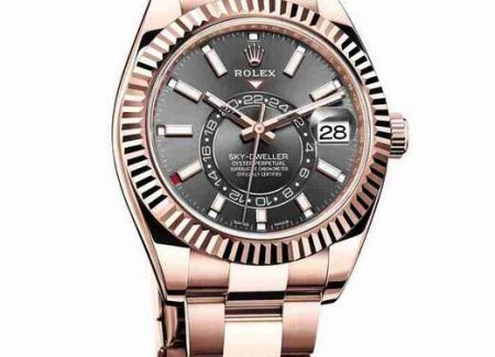 Introducing The Replica Rolex Sky-Dweller Annual Calendar Everose 18k Gold Watches