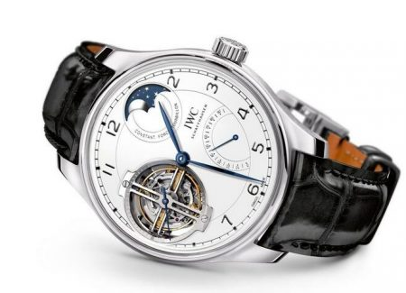 Replica IWC Portugieser Automatic Tourbillon Constant-Force Edition 150 Years Watch Guide