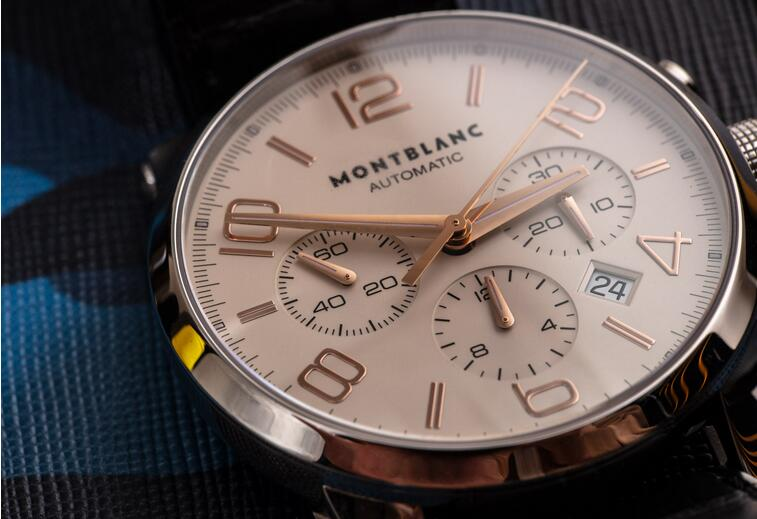 Replica Montblanc Timewalker Automatic Chronograph Stainless Steel 43mm 101549 Watch Guide