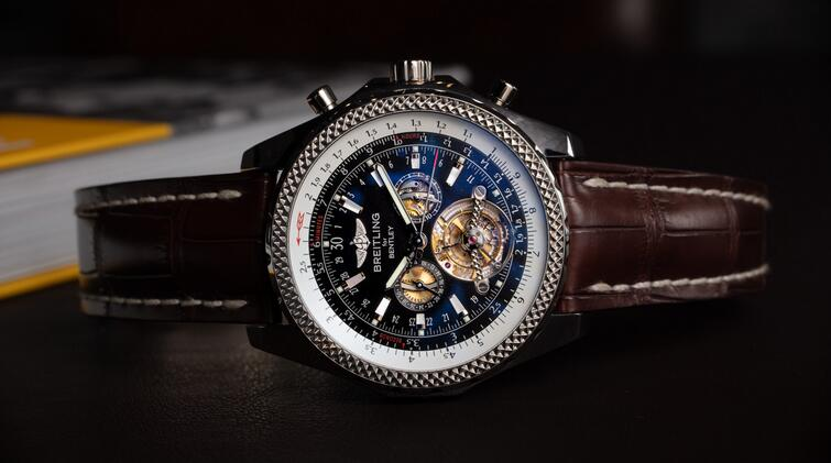 Replica Breitling For Bentley Mulliner Tourbillon Chronograph 18K White Gold Watches Review