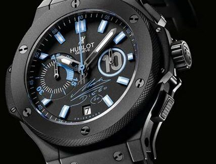 Maradona And His Replica Hublot Big Bang Chronograph Limited Edition Introducing 3
