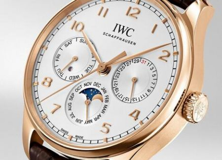 Introducing The Replica IWC Portugieser Perpetual Calendar 42 18K Gold IW344203 Watches 1
