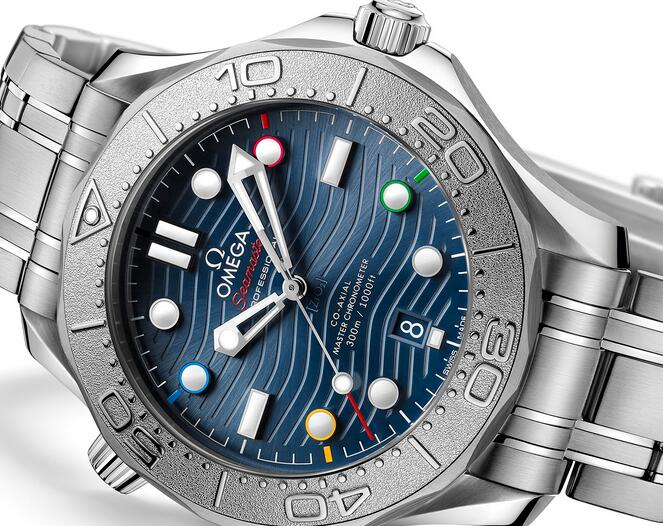 Buying Guide of Replica Omega Seamaster Diver 300M Beijing 2022 Special Edition Watch 1