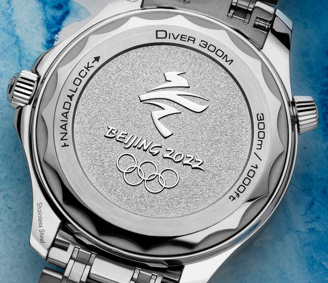 Buying Guide of Replica Omega Seamaster Diver 300M Beijing 2022 Special Edition Watch 2