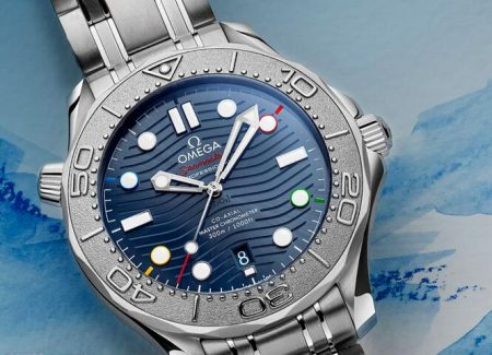 Buying Guide of Replica Omega Seamaster Diver 300M Beijing 2022 Special Edition Watch 3