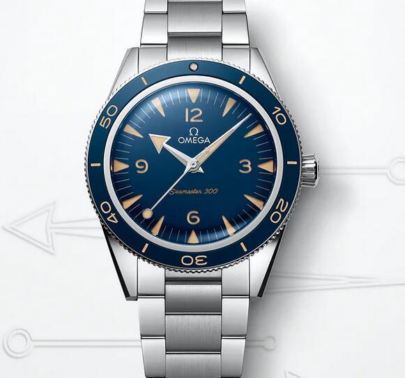 New Replica Omega Seamaster 300 Automatic Stainless Steel 41mm Watches Review 1