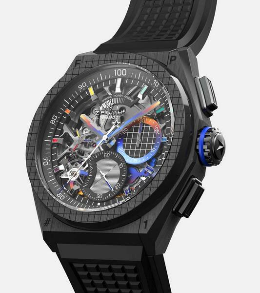 Replica Zenith Defy 21 Black Ceramic Felipe Pantone 44mm Watch Buying Guide 3