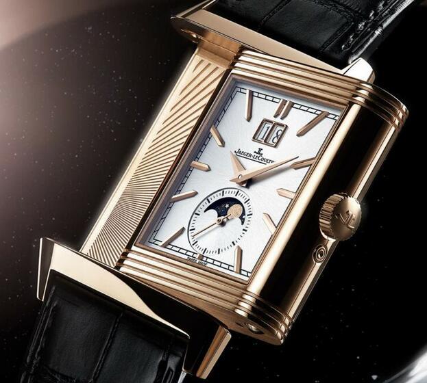 Replica Jaeger-LeCoultre Reverso Tribute Nonantième 18K Pink Gold Watches Review 1