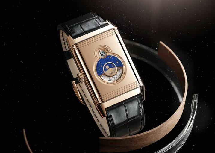 Replica Jaeger-LeCoultre Reverso Tribute Nonantième 18K Pink Gold Watches Review 3