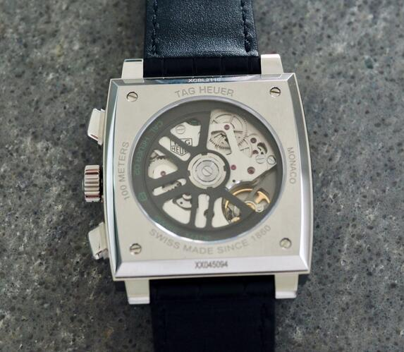 Limited Edition Replica TAG Heuer Monaco Calibre Heuer 02 Green CBL2116 Watch Review 2
