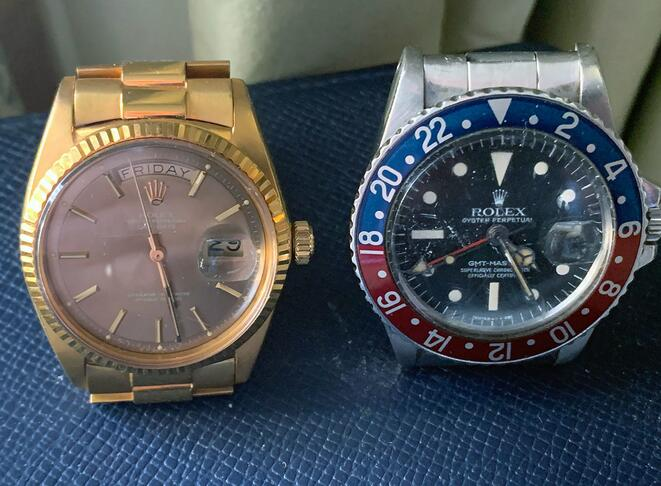 Nader Jahanbani And His Replica Rolex GMT-Master Mark III Radial ref. 1675 Dial Watch 2