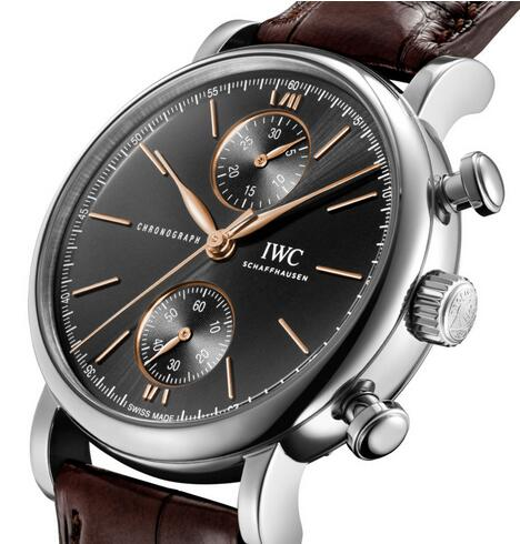 Replica IWC Portofino Self-Winding Chronograph 39 Stainless Steel Watches Review 1