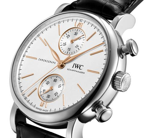 Replica IWC Portofino Self-Winding Chronograph 39 Stainless Steel Watches Review 3