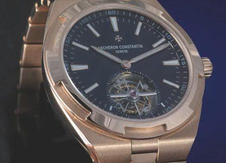 Replica Vacheron Constantin Overseas Self-winding Tourbillon 18K 5N Pink Gold Watch Guide 1