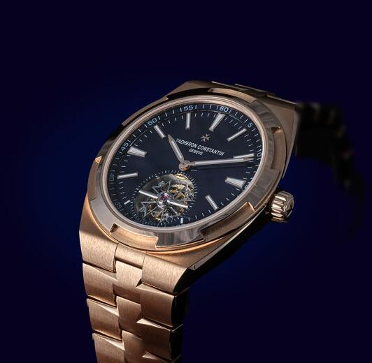 Replica Vacheron Constantin Overseas Self-winding Tourbillon 18K 5N Pink Gold Watch Guide 2