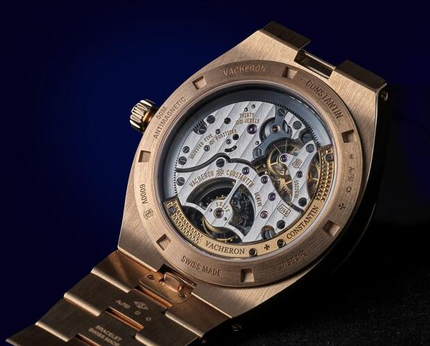 Replica Vacheron Constantin Overseas Self-winding Tourbillon 18K 5N Pink Gold Watch Guide 3
