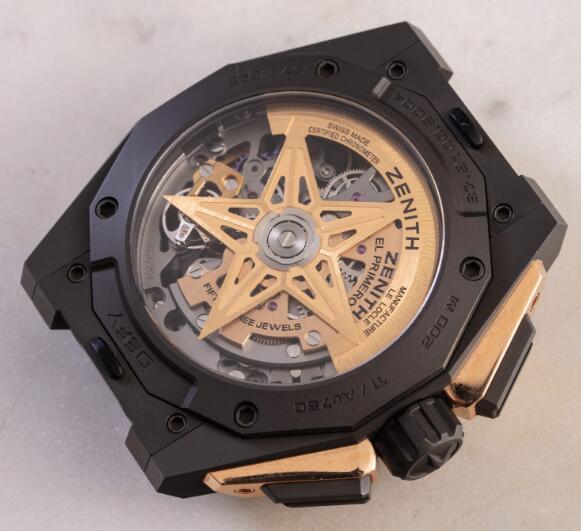 Replica Zenith Defy El Primero Automatic Chronograph Extreme 45mm Watches Guide 3